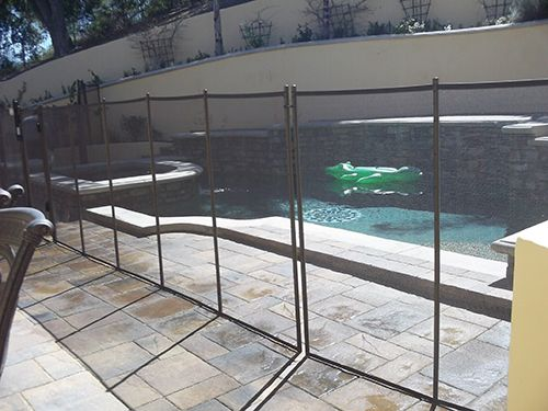 Custom Pool Safety Fence